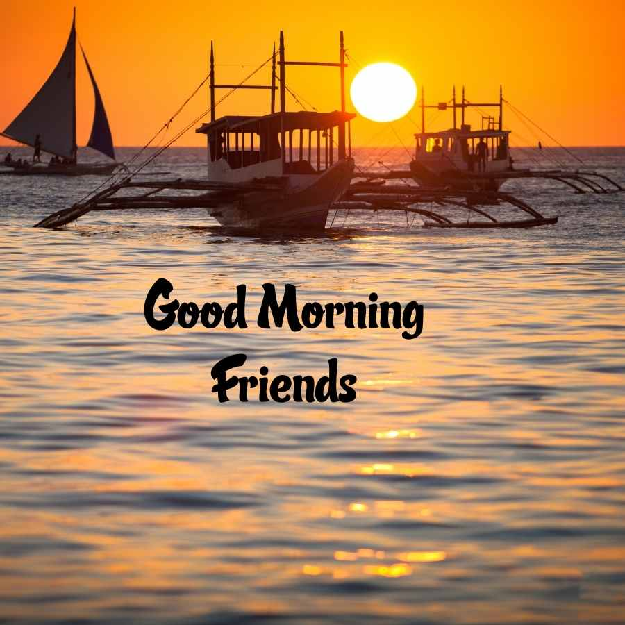 friends good morning images