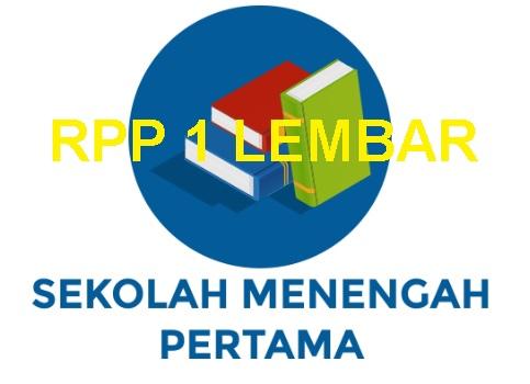 Rpp 1 Lembar Fiqih Kelas Ix Smp Mts Tahun 2020 2021 Sinau Thewe Com