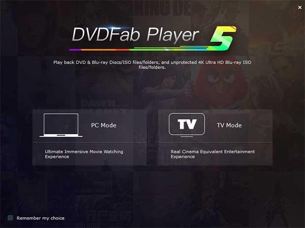 تحميل أفضل برنامج لتشغيل الميديا DVDFab Player Ultra 6.1.0
