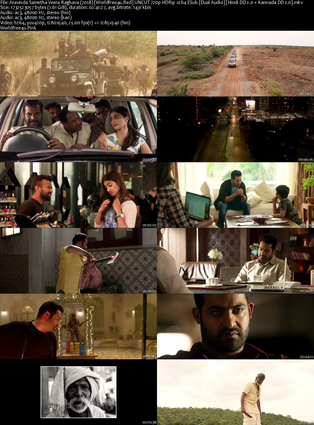 Aravinda Sametha Veera Raghava 2018 Hindi Dubbed HDRip 720p