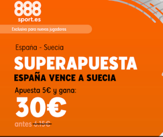 888sport superapuesta clasificacion euro 2020 España vs Suecia 10 junio 2019