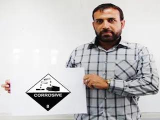 Dangerous Goods Class 8  | Corrosive Substances