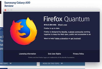 موزيلا فايرفوكس 67.0.2 صدر مع مختلف التحسينات وإصلاح الأخطاء