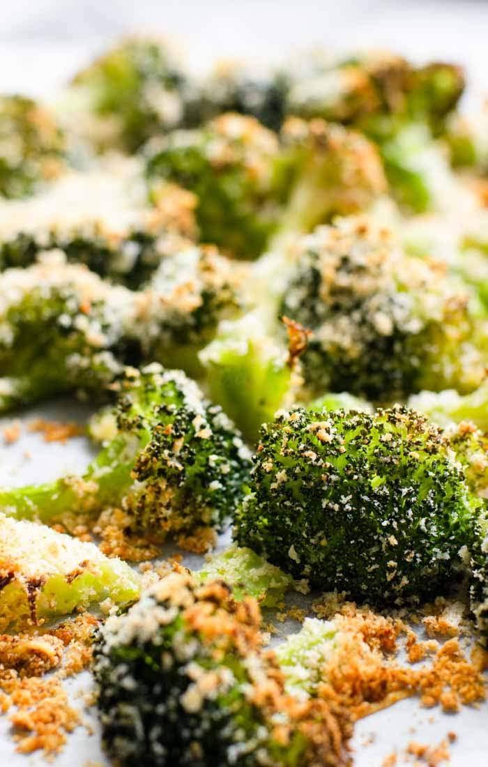Parmesan garlic roasted broccoli image