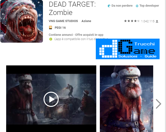 Trucchi DEAD TARGET: Zombie Mod Apk Android v2.6.7