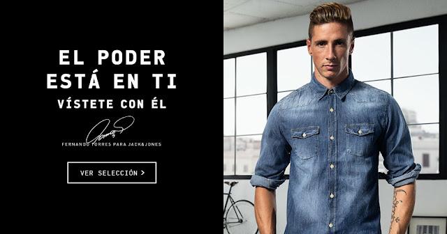 Fernando Torres, nueva imagen de Jack & Jones