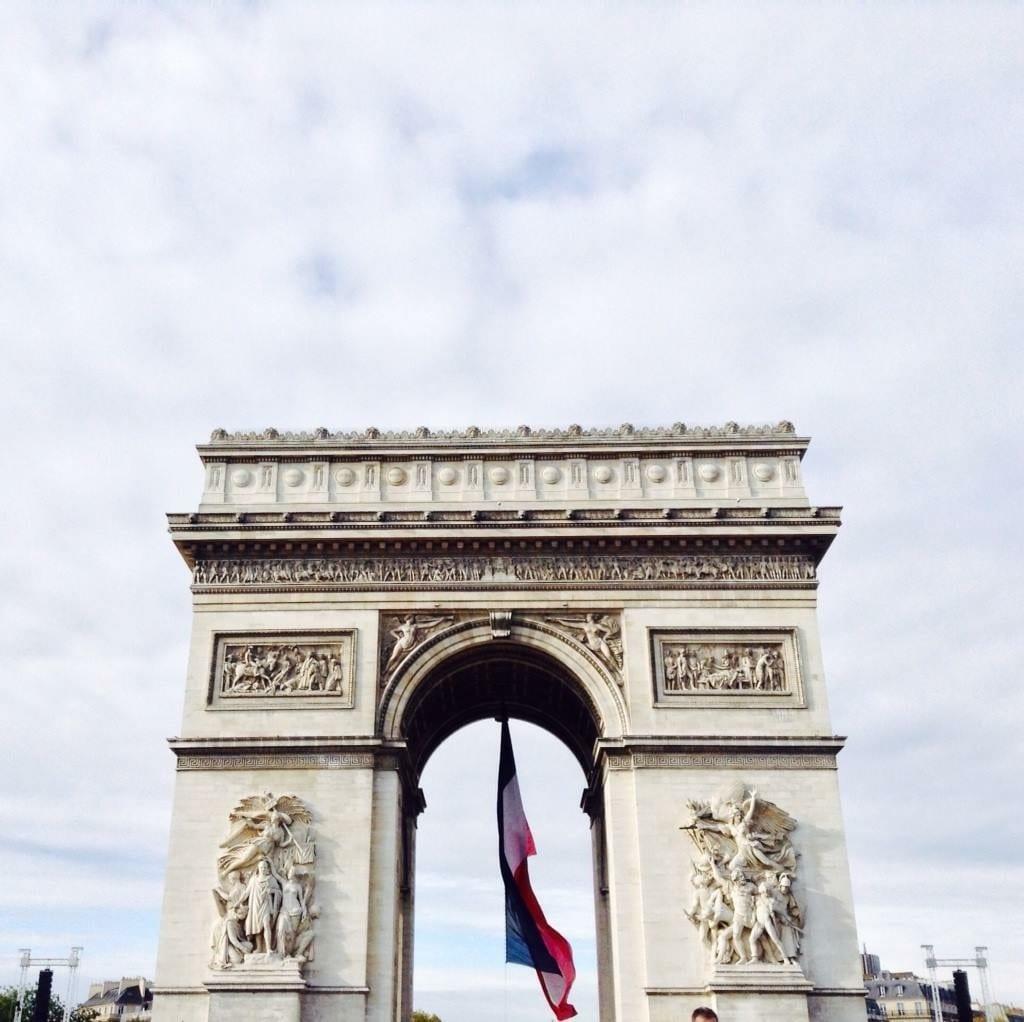 Beautiful Arc De Triomphe Paris Photo