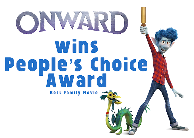 Pixar's Onward wins People's Choice Award for Best Family Movie