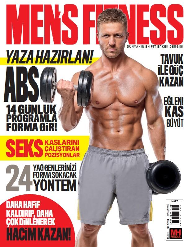 Men's Fitness Mart 2019 Dergi PDF indir