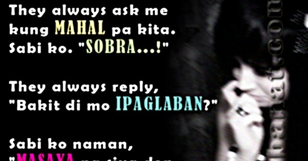 Emo Quotes About Love For Him: Emo Love Gallery: Emo Love Quotes Tagalog