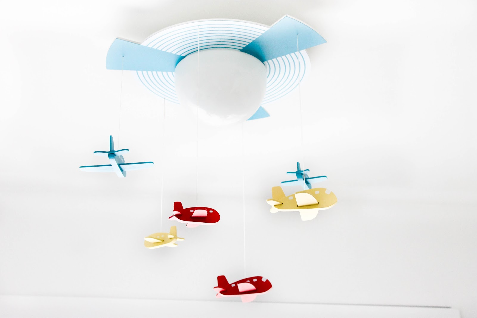 plane themed bedroom, plane bedroom, kids decor, modern kids decor, airplane kids room, plane light,