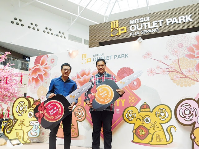 Mitsui Outlet Park KLIA, Chap Goh Meh Celebration, Spend & Win a Car contest Winners, Outlet, Lifestyle
