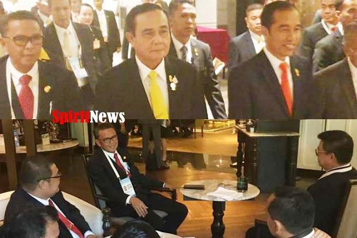 Presiden Jokowi, Bersama Gubernur Sulsel, Hadiri KTT ASEAN Ke-34 di Thailand