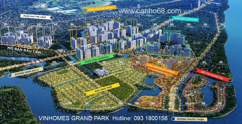 Vinhomes Diamond Quận 9 –  căn hộ cao cấp đỉnh cao tại Vinhomes Grand Park