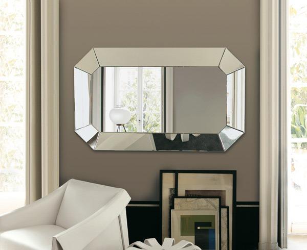 Ruang Tamu Bercermin Desainrumahid Dekorasi Dinding Dengan Cermin Modern Yang Menarik Rumah Murah Samarinda