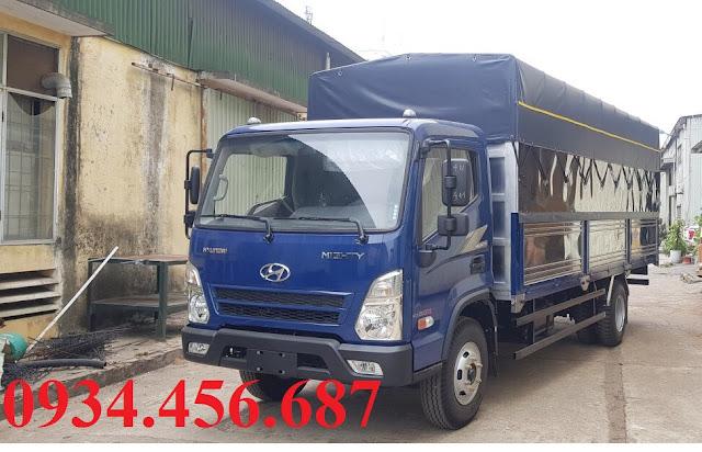 Hyundai EX8 GTL thùng bạt