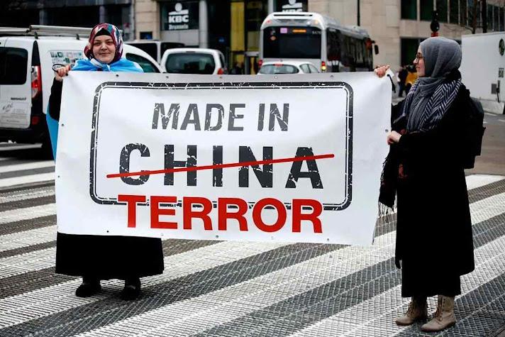 Condenados vão a campos de trabalhos forçados como a minoria étnica de uigures
