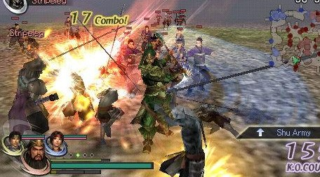 Download Wariors Orochi 2 USA CSO High Compress PPSSPP