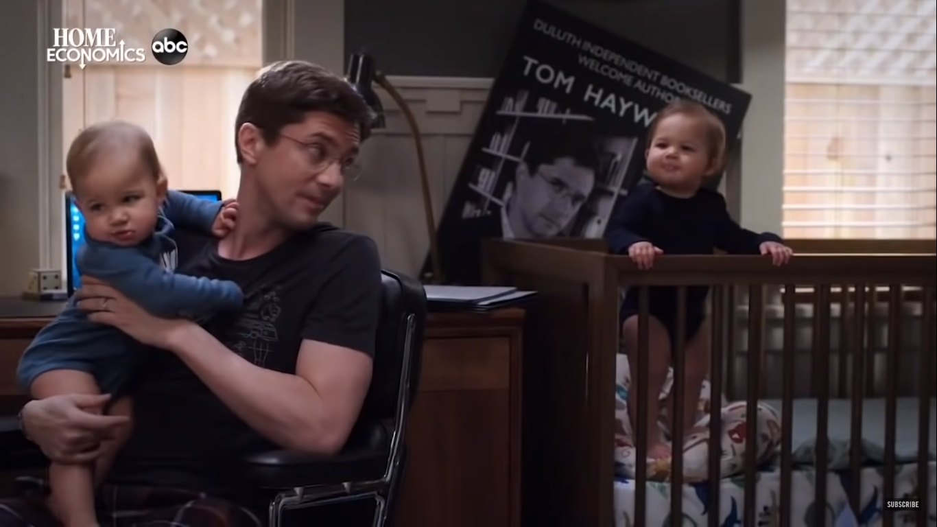'Home Economics: TV Review' Topher Grace, Caitlin McGee and Jimmy Tatro star in ABC's family sitcom as siblings separated by very different economic circumstances