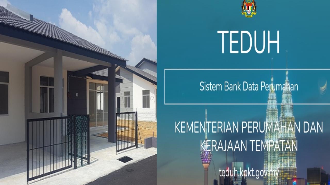 Permohonan Rumah Mampu Milik 2021 Online Bagi Golongan B40 (TEDUH)