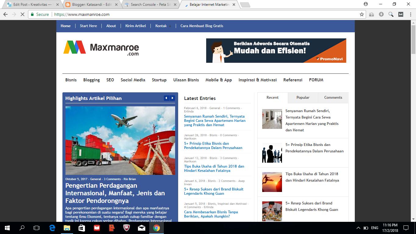 Blog terbaik di indonesia