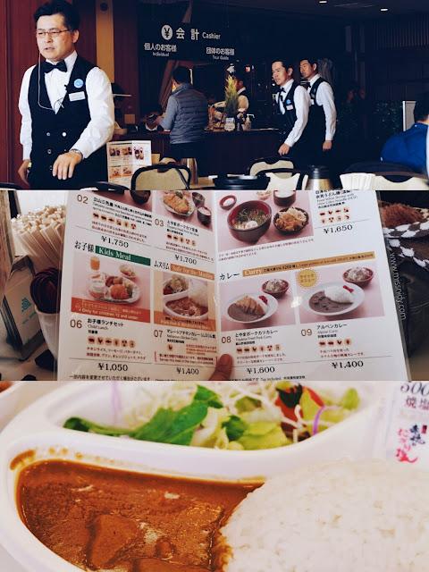 makanan halal di tateyama kurobe alpine route