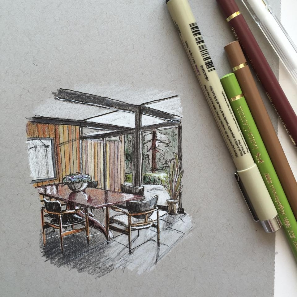 05-Interior-Design-Dining-Room-Phoebe-Atkey-Architecture-Urban-Drawings-and-Interior-Design-Sketches-www-designstack-co