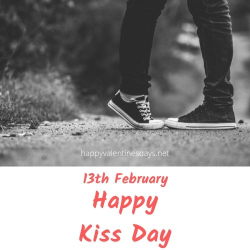 february special day : 13 feb happy kiss day 2021