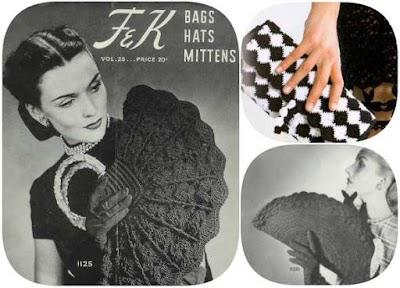 Bolsos de Crochet Retro-Vintage