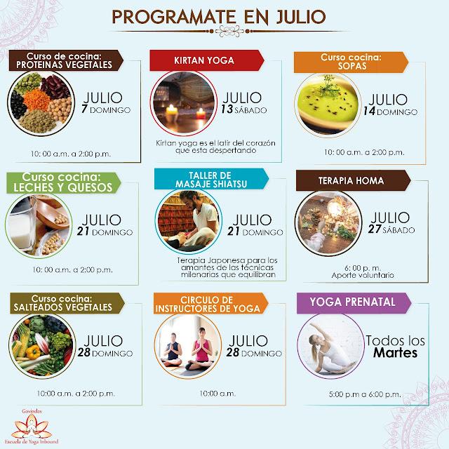 El año sigue avanzando y nuestra escuela esta lista para acompañarte en este nuevo mes, Julio!