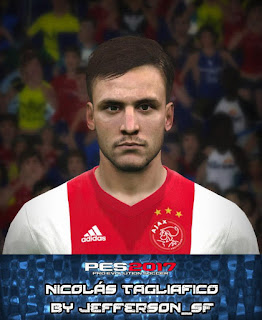 PES 2017 Faces Nicolás Tagliafico by FaceEditor Jefferson_SF