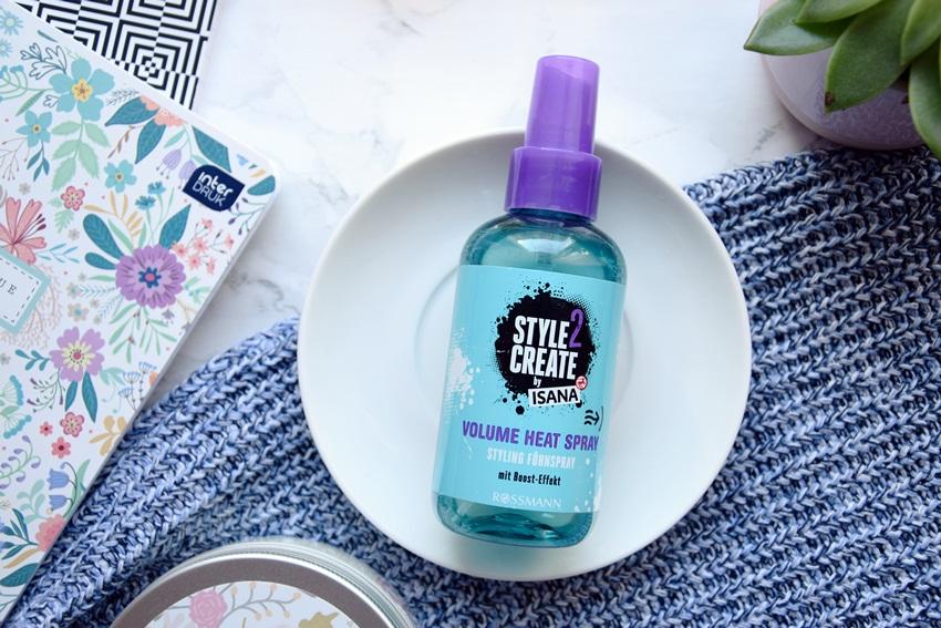 spray termoaktywny isana do nadania objętości włosom