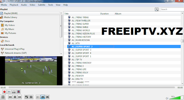 IPTV Links Albanian - Free IPTV Player M3u Links Gratuit 2018