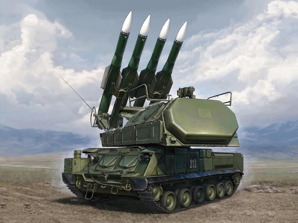 SAM Russian Buk-M2