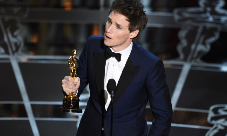Actor Eddie Redmayne Cast as Fantastic Beasts Newt Scamander