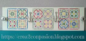 Stencil-azulejo-hidráulico-perchero-handmade-Crea2-Con-Pasión