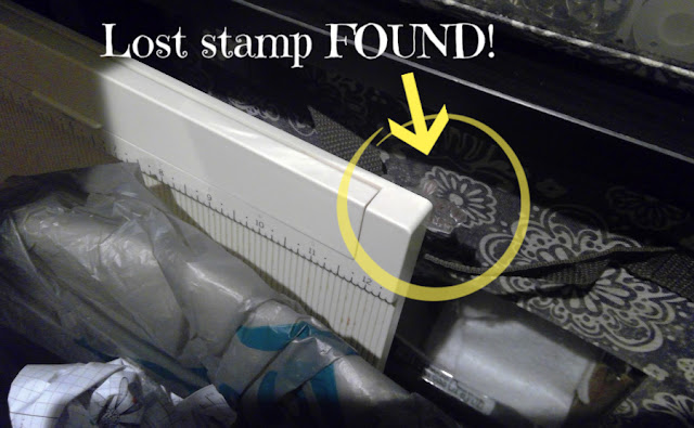 Lost stamp found!