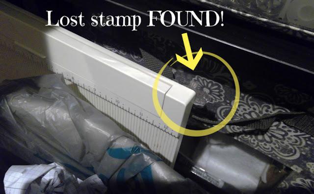 Lost stamp found!