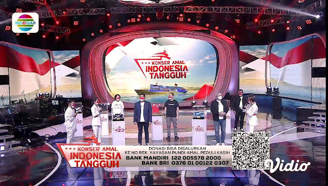 Donasi Rp 15,8 Miliar Terkumpul dalam <i>Konser Amal Indonesia Tangguh</i> untuk Kapal Isoter Terapung