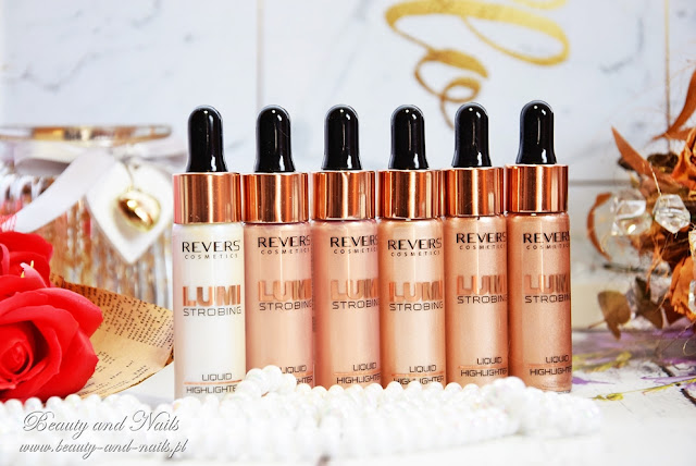 Revers Cosmetics - LUMI STROBING rozświetlacze w płynie. NOWOŚĆ.