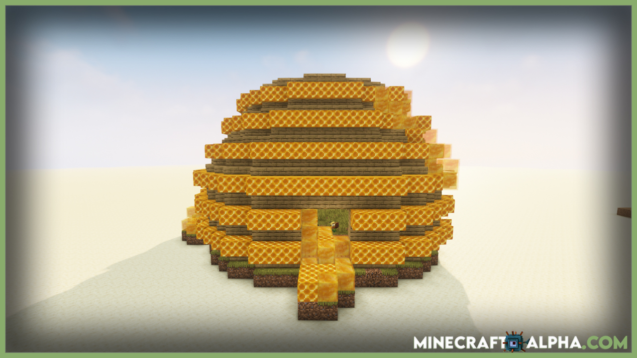 Minecraft Queen Bee Mod For 1.16.5 (Boss And Entity)