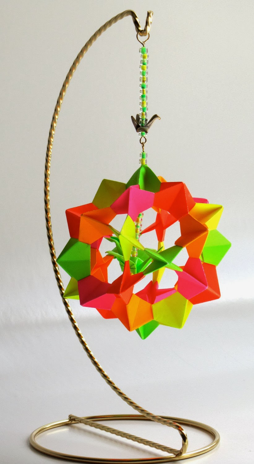 origami maniacs electra icosidodecahedron by david mitchell. Black Bedroom Furniture Sets. Home Design Ideas