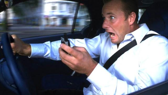 استخدام الجوال أثناء القيادة يزيد من حـوادث السير في السـويداء.؟