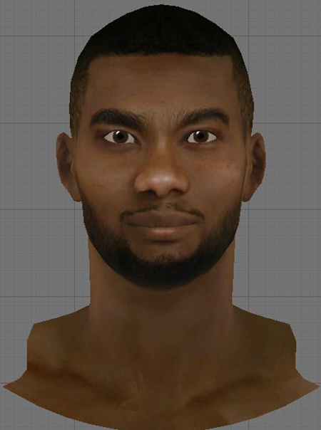 NBA 2K14 Corey Brewer Face Mod
