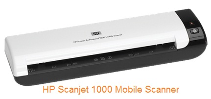 hp scanjet 1000 scanner portable pasangan laptop bisa