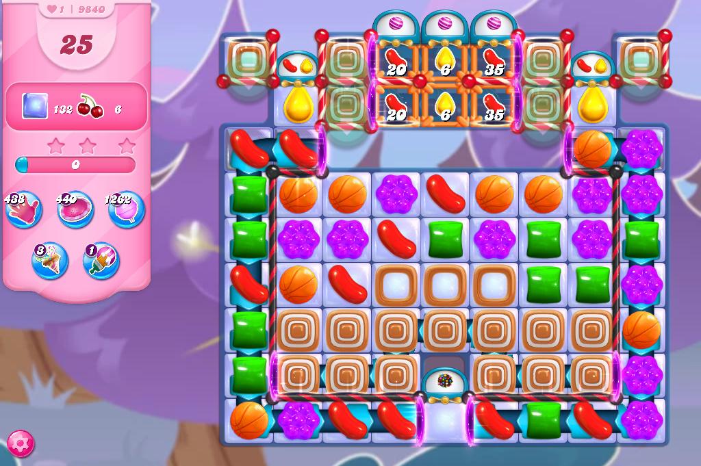 Candy Crush Saga level 9840