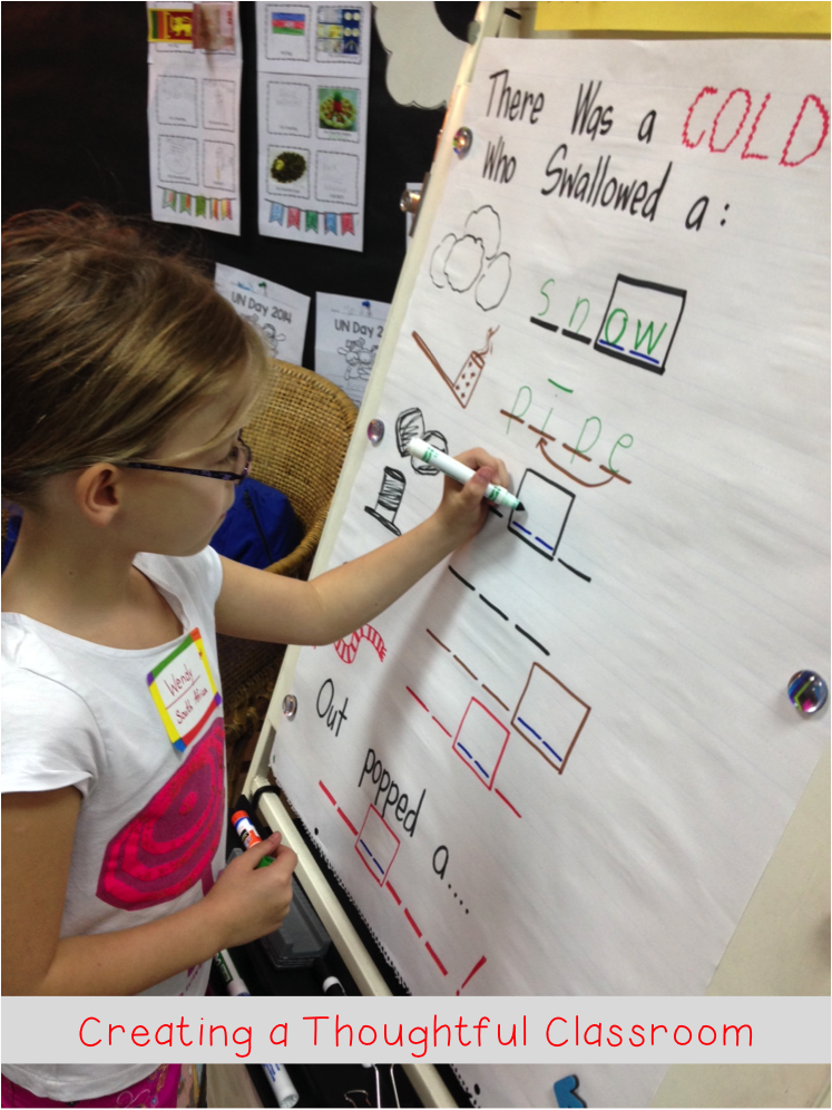 Onset-rime Spelling Strategy, Creating a Thoughtful Classroom