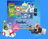Logo Desideri Collection : il programma per vincere premi o averli con azioni da svolgere