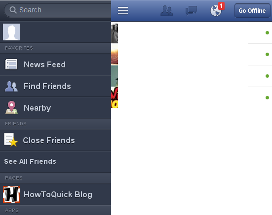 How to Use Facebook Chat For Opera Mini Browser Users