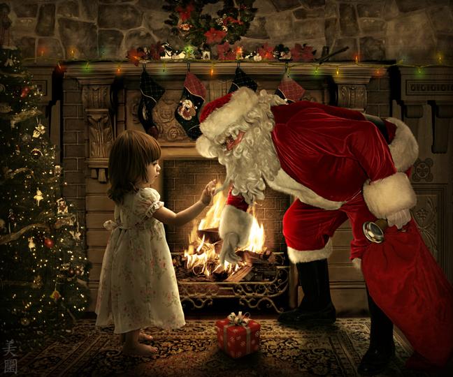 Nếu được gặp ông già Noel vào năm nay thì vui biết mấy...